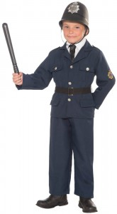 Childs Police Officer Costume