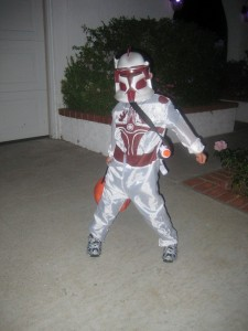 Clone Trooper Costume Kids