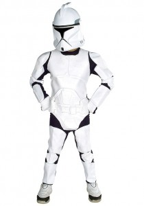 Clone Trooper Costume for Kids