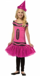 Crayon Costume for Girls