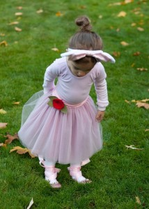 DIY Ballerina Costume