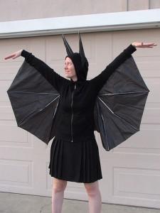 DIY Bat Costume