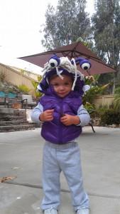 DIY Boo Costume