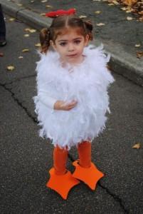 DIY Chicken Costume