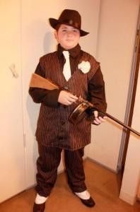 DIY Gangster Costume