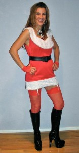 DIY Mrs Claus Costume