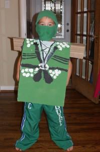 DIY Ninjago Costume