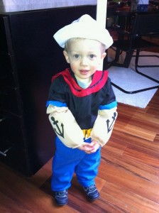 DIY Popeye Costume