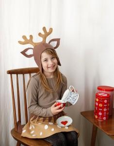 DIY Reindeer Costume