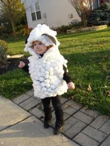 DIY Sheep Costume