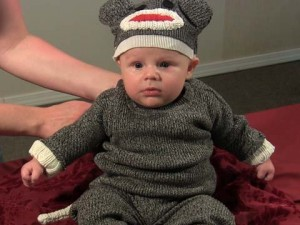 DIY Sock Monkey Costume