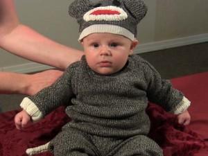 DIY Sock Monkey Costume
