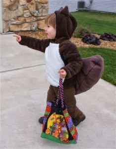 DIY Squirrel Costume