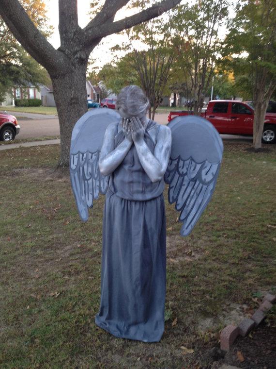 DIY Weeping Angel Costume