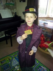 DIY Willy Wonka Costume