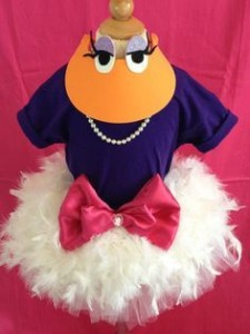 Daisy Duck Costume Homemade