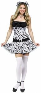 Dalmatian Costume Girl