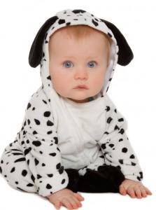 Dalmatian Costume for Baby