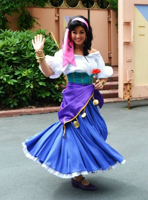 esmeralda kostume