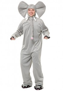 Elephant Costume for Adults