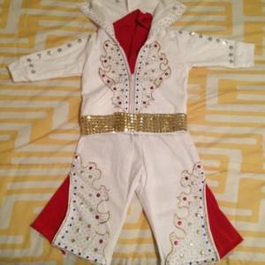 Elvis Costume Kid