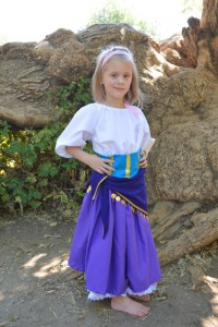 Esmeralda Costume for Kids