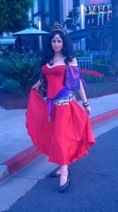 Esmeralda Red Costume