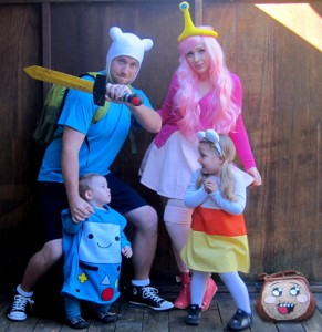 Family Costumes with Infant