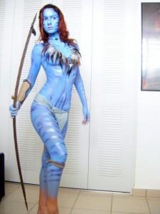 Female Avatar Costume