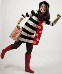 Female Hamburglar Costume