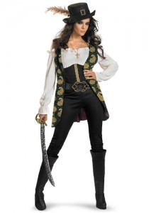 Female Jack Sparrow Costume