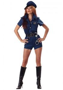 Female Police Officer Costume
