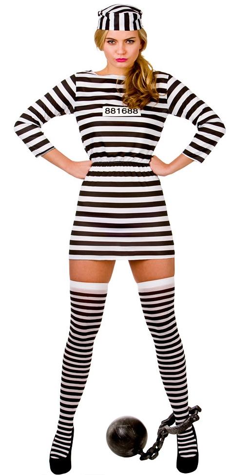 Female Prisoner Costume  sc 1 st  Parties Costume & Prisoner Costumes (for Men Women Kids) | Parties Costume