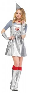 Female Tin Man Costume