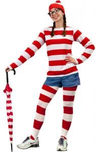 Female Waldo Costume