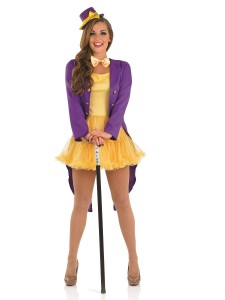 Female Willy Wonka Costume