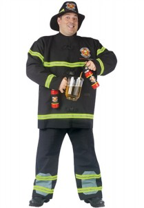 Firefighter Costume Men