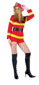 Firefighter Costume Women
