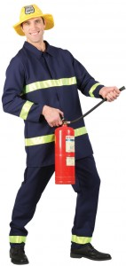 Firefighter Costume for Men