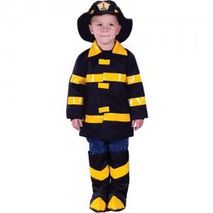 Fireman Costume Boy