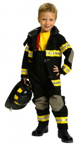 Fireman Costume Child