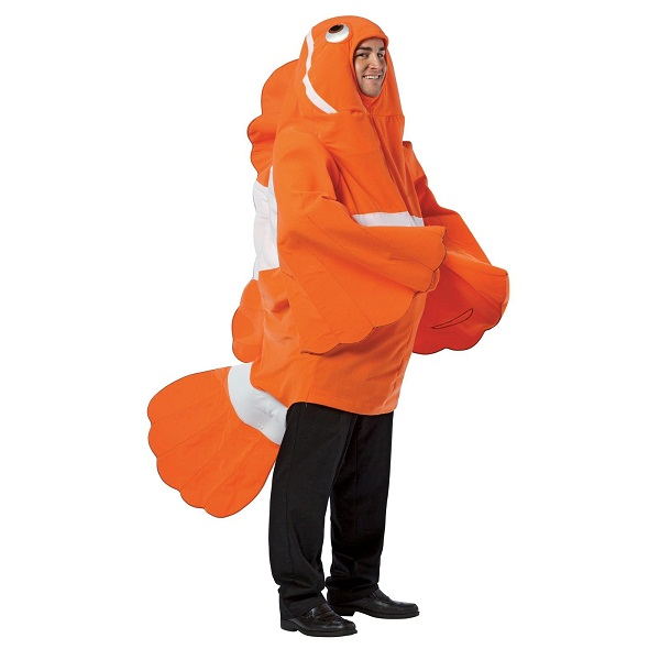 fish costumes for men women kids parties costume
