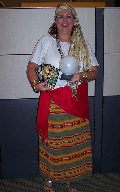 Fortune Teller Costumes For Men Women Kids Parties Costume