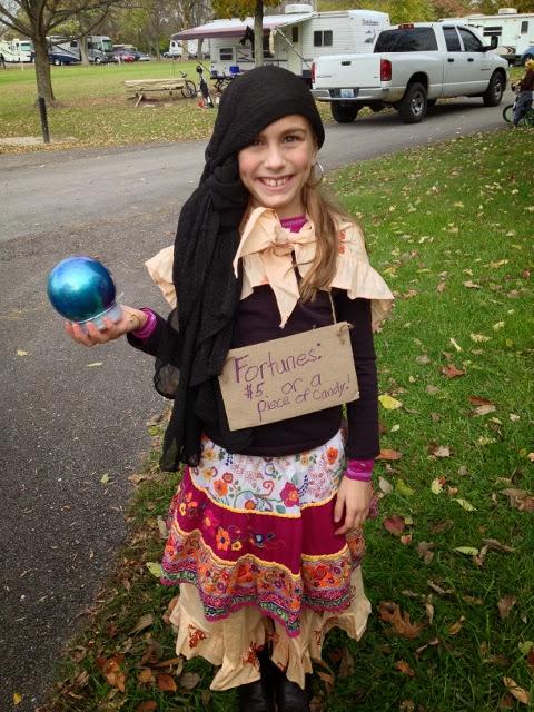 fortune teller costume for kids