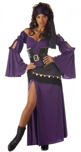 Fortune Teller Fancy Dress Costume