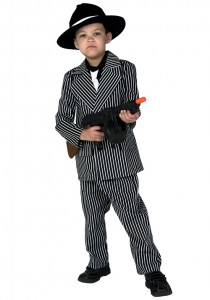 Gangster Costume for Kids