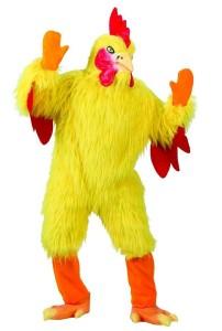 Giant Chicken Costume