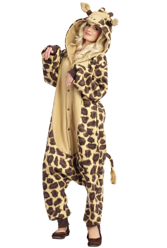 Giraffe Costumes Men Women Kids Parties Costume