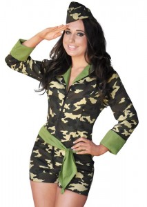 Girl Army Costumes
