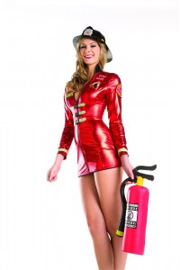Girl Firefighter Costume